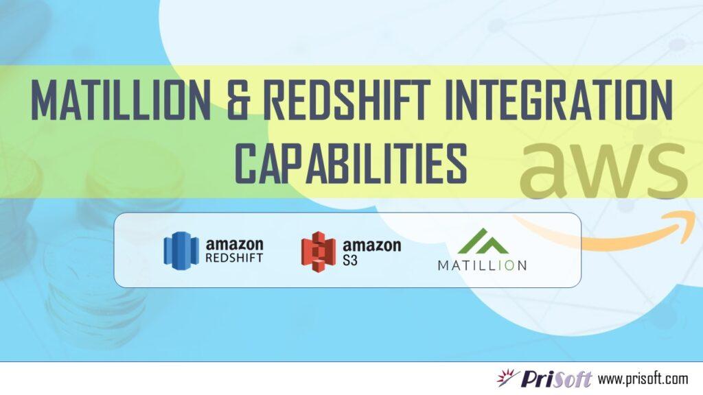 Matillion Redshift